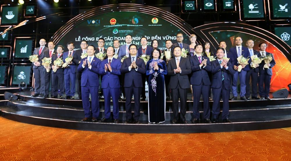 Hòa Bình lọt Top 10 doanh nghiệp bền vững năm 2020