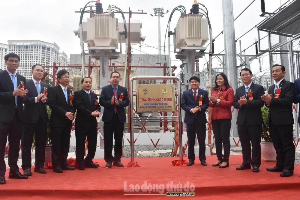 Trạm biến áp 110kV Minh Khai và nhánh rẽ chính thức được đưa vào sử dụng