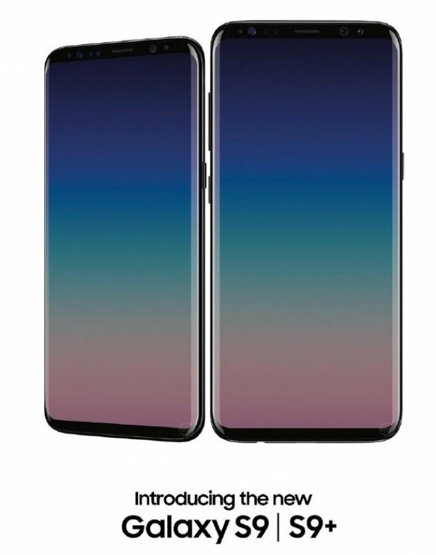 Ảnh thiết kế cực đẹp của bộ đôi siêu phẩm Galaxy S9, Galaxy S9+