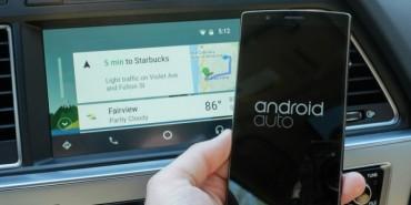 Xe hơi sắp chạy hệ điều hành Android vào năm 2018!