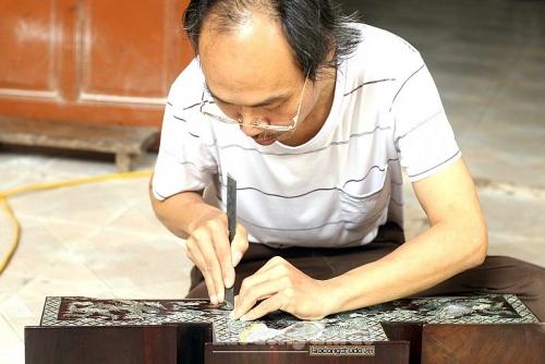 Đặc sắc làng nghề khảm trai Chuôn Ngọ