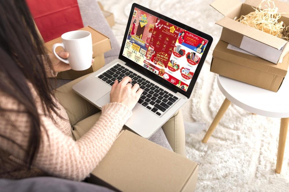 Những phiên chợ Tết online
