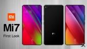 Xiaomi Mi 7 lộ diện: Cảm biến vân tay phía sau, màn hình 5.65 inch không viền