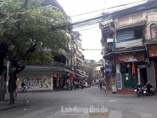 Cảm nhận phố phường Hà Nội bình yên sáng mùng 1 Tết