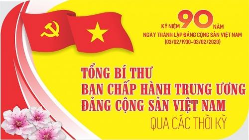 Infographic: Tổng Bí thư Ban Chấp hành Trung ương Đảng Cộng sản Việt Nam qua các thời kỳ