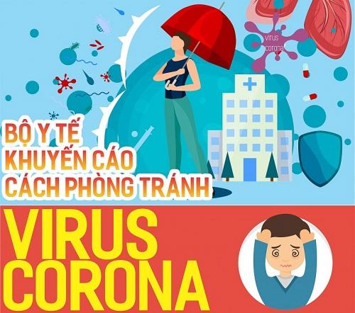 Inforgraphic: Bộ Y tế khuyến cáo cách phòng tránh virus Corona (nCoV)