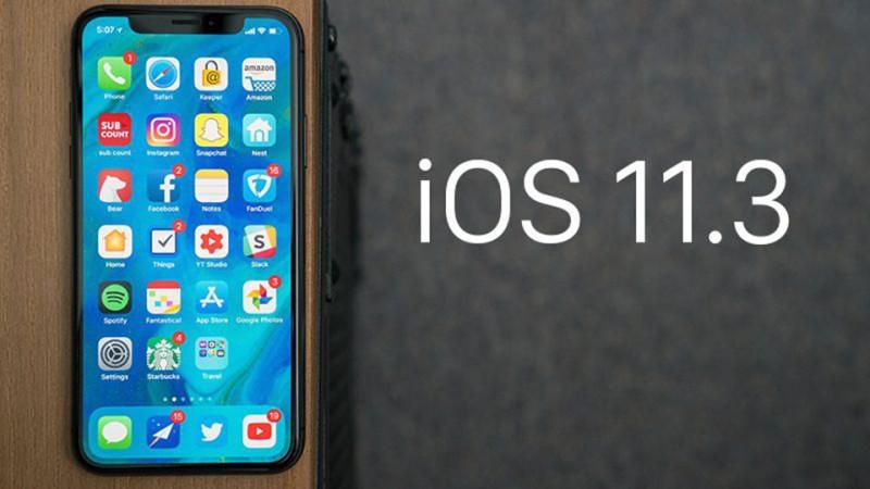 Apple: iOS 11.3 nhiều nâng cấp quan trọng cho người dùng iPhone, iPad