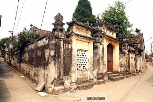 Kiến trúc độc đáo ngôi làng 500 tuổi ở Hà Nội