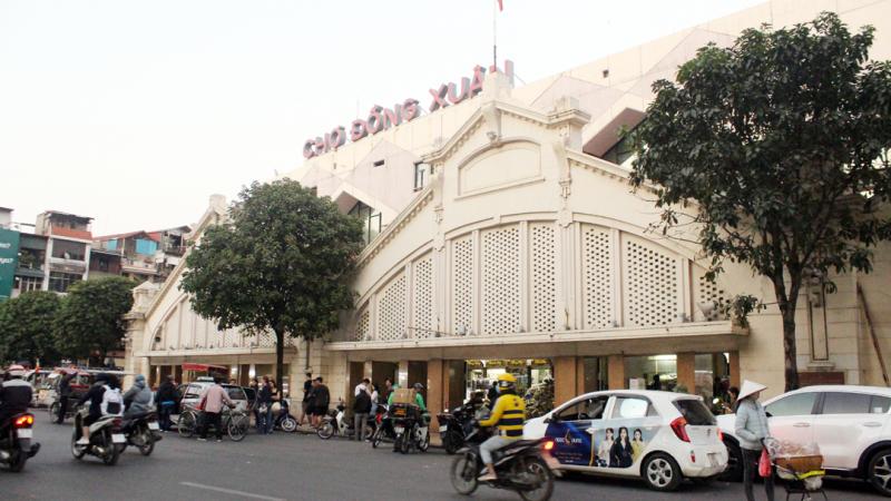 Dấu ấn chợ Đồng Xuân