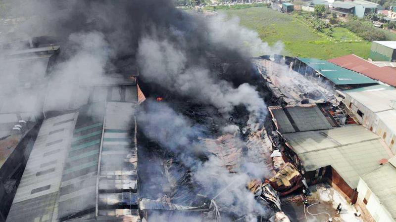 Siết chặt công tác an toàn cháy nổ trên địa bàn Hà Nội