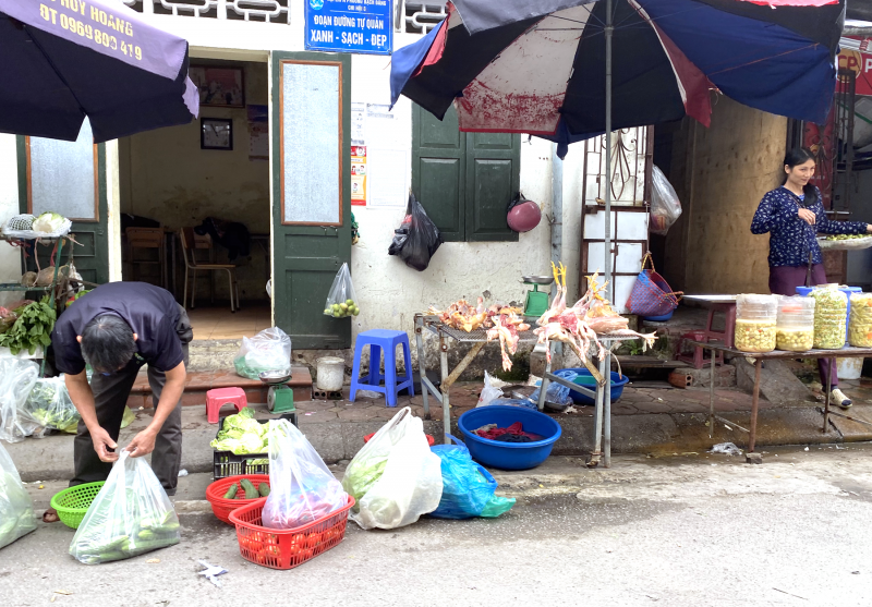 Phòng chống dịch tại chợ dân sinh: Không thể xem nhẹ!