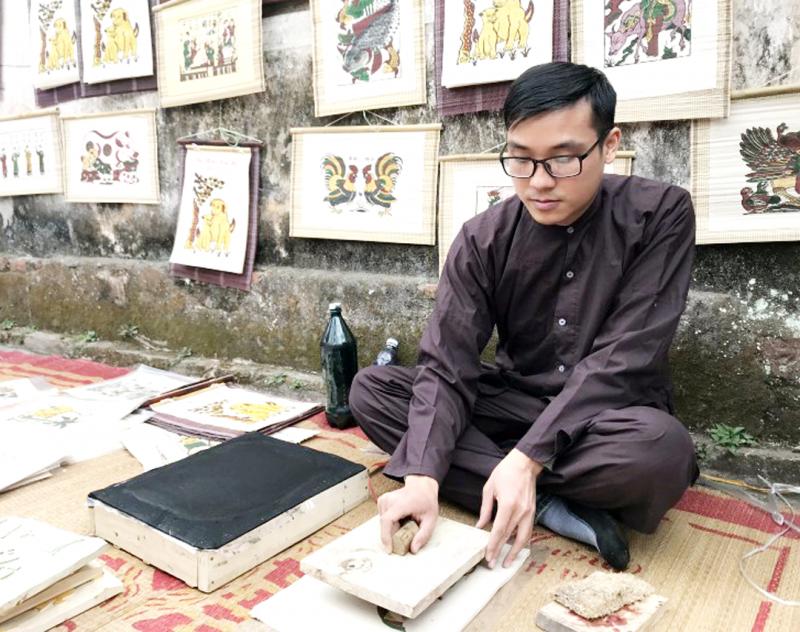 Nghề làm tranh Đông Hồ: Di sản cần được bảo vệ