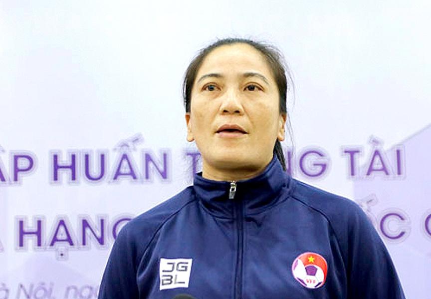 Đào tạo trọng tài nữ của Bóng đá Việt Nam: Tín hiệu vui vì  ngày càng chuyên môn hóa