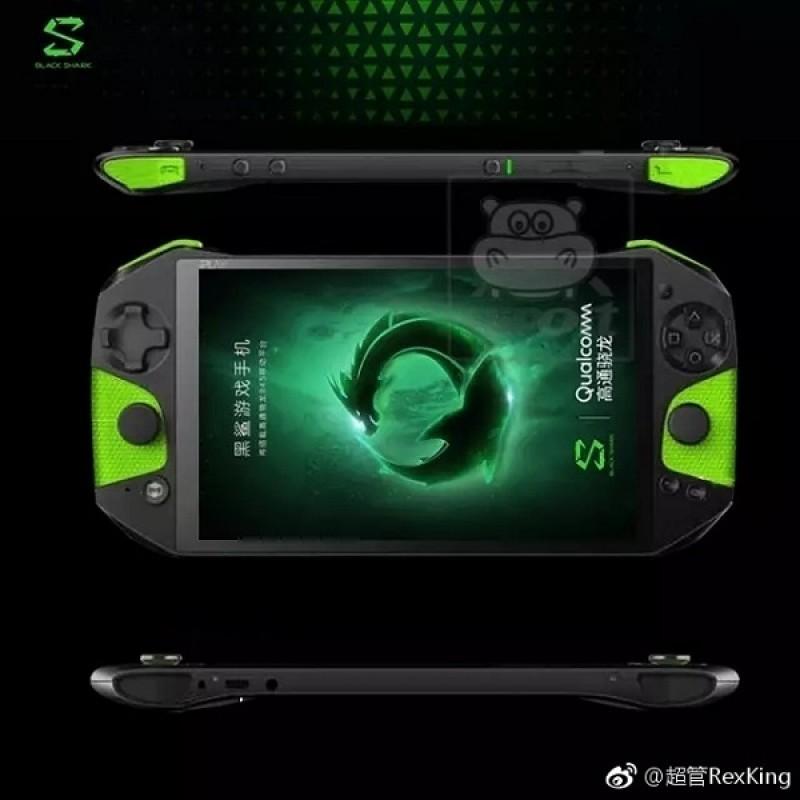 Ảnh đầu tiên về smartphone chuyên game Xiaomi Black Shark