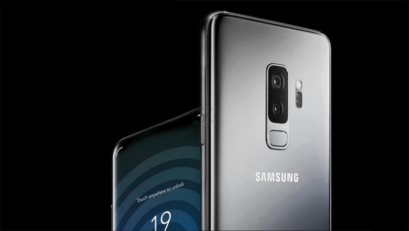 Concept tuyệt đẹp Galaxy X 2018 với màn hình vô cực, cảm biến vân tay