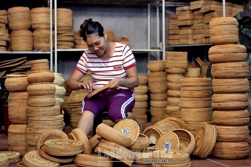 Đỉnh cao nghệ thuật đan mây tre ở Việt Nam