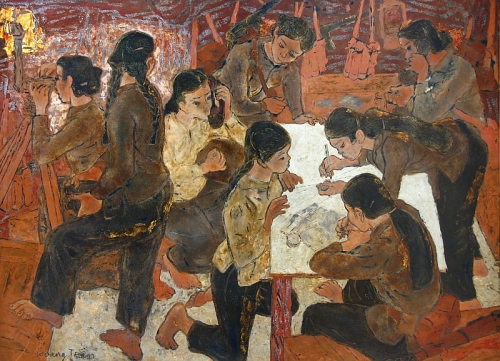 Chân dung người Việt qua các tác phẩm tạo hình