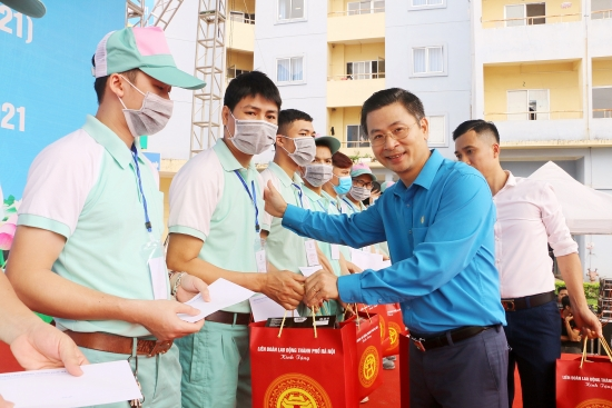 Trực tuyến: Phát động Tháng Công nhân năm 2021 tới công nhân lao động các Khu công nghiệp và chế xuất Hà Nội