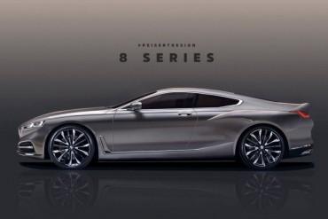 BMW 8-Series Concept: Mang đến sự sang trọng và đẳng cấp