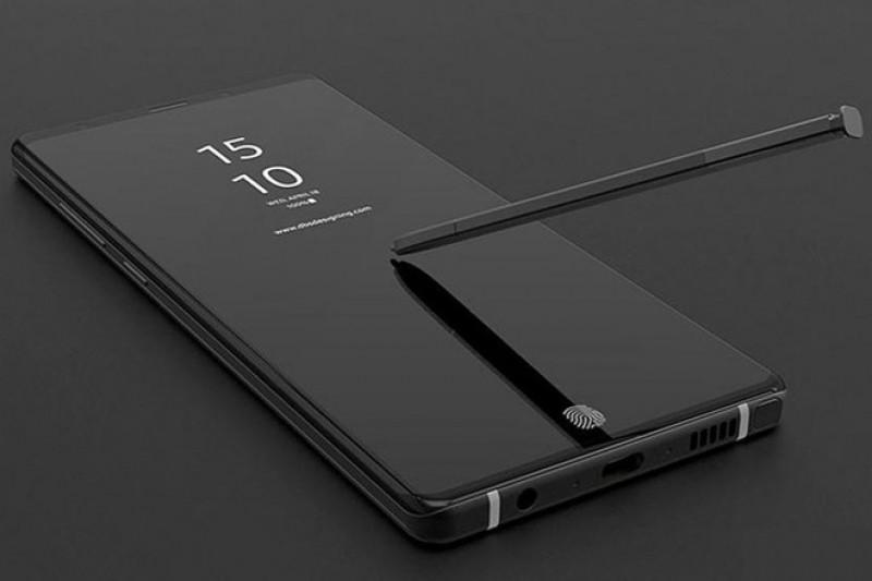 Galaxy Note 9: Cảm biến vân tay vào màn hình cảm ứng và bút S-Pen tính năng mới!