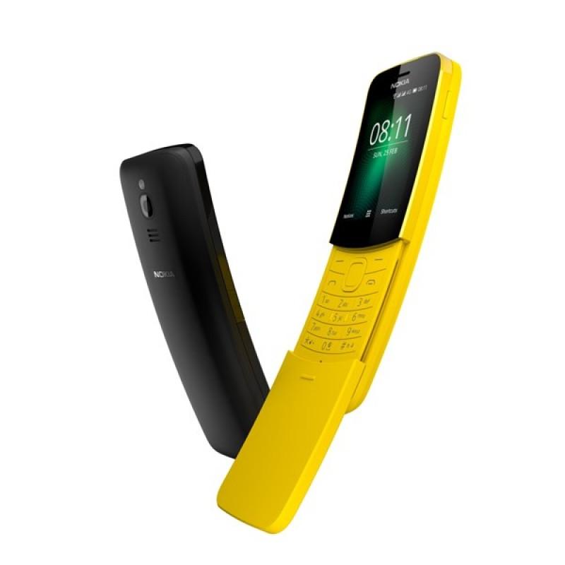 Nokia 8110 ra mắt với thiết kế nắp trượt và thân máy cong