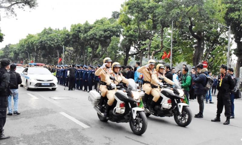 Ra quân tổng kiểm soát phương tiện tại Hà Nội: Giải pháp hiệu quả sau giãn cách