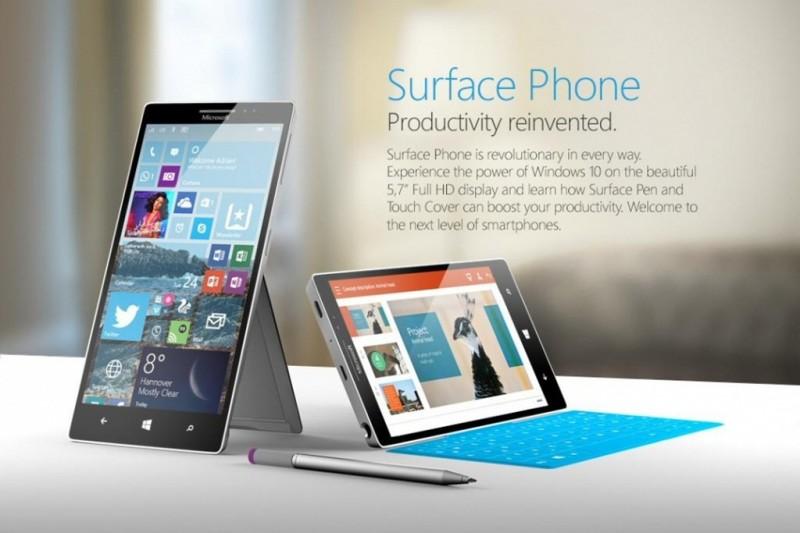 surface phone se duoc goi la surface mobile voi nhieu tinh nang moi