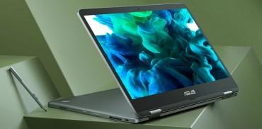 Asus VivoBook Flip 14 thiết kế xoay gập 360 độ với viền màn hình siêu mỏng NanoEdge