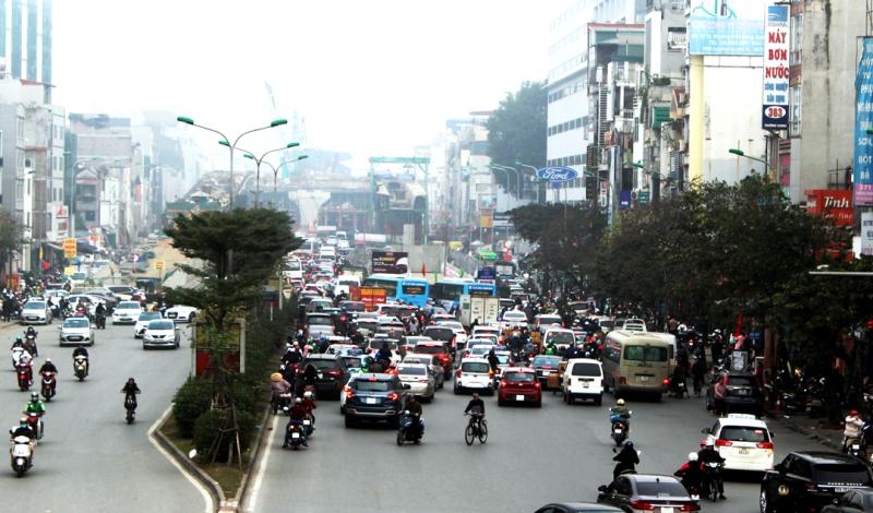 Ứng dụng công nghệ, cứu cánh cho giao thông đô thị