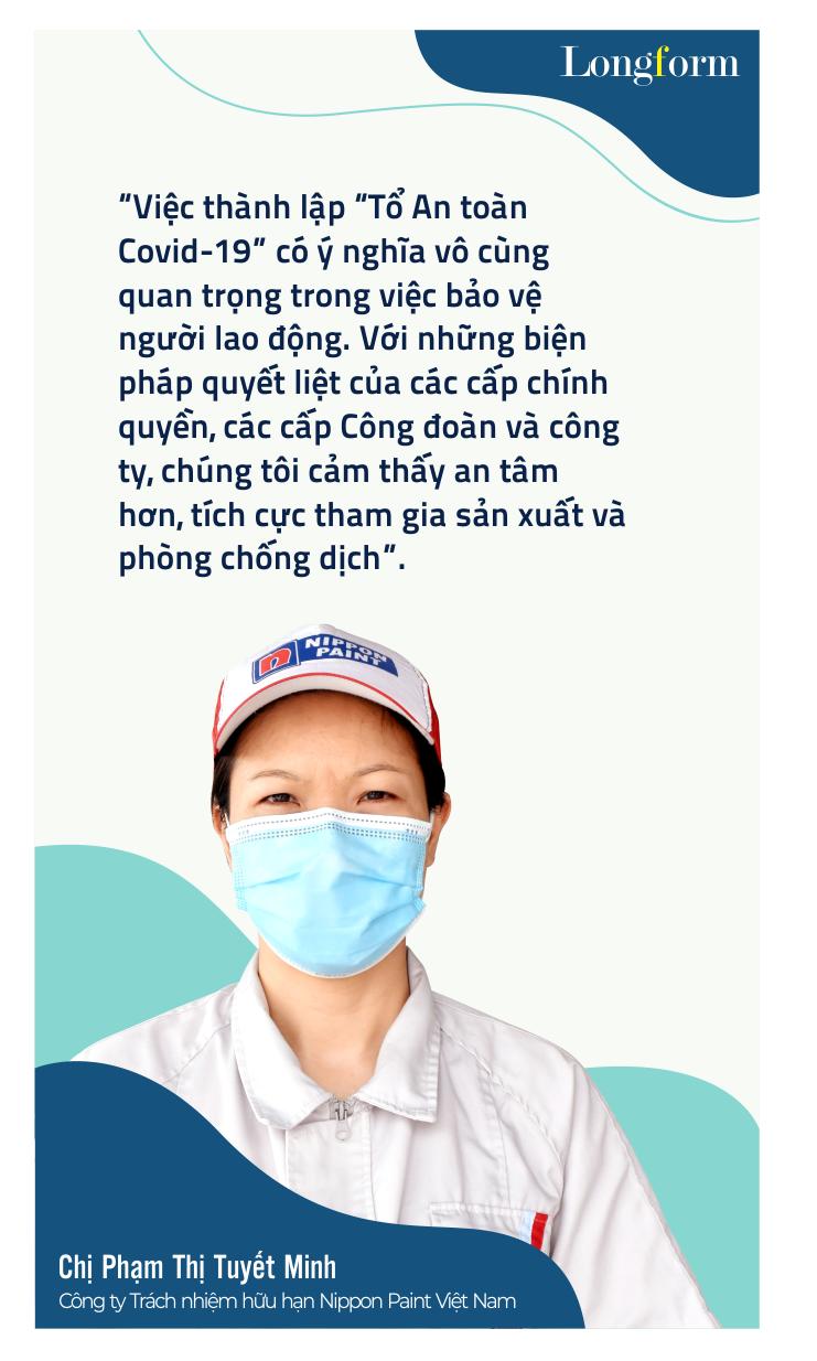 """""""Tổ An toàn Covid-19"""": Tăng sức đề kháng cho doanh nghiệp và người lao động"""