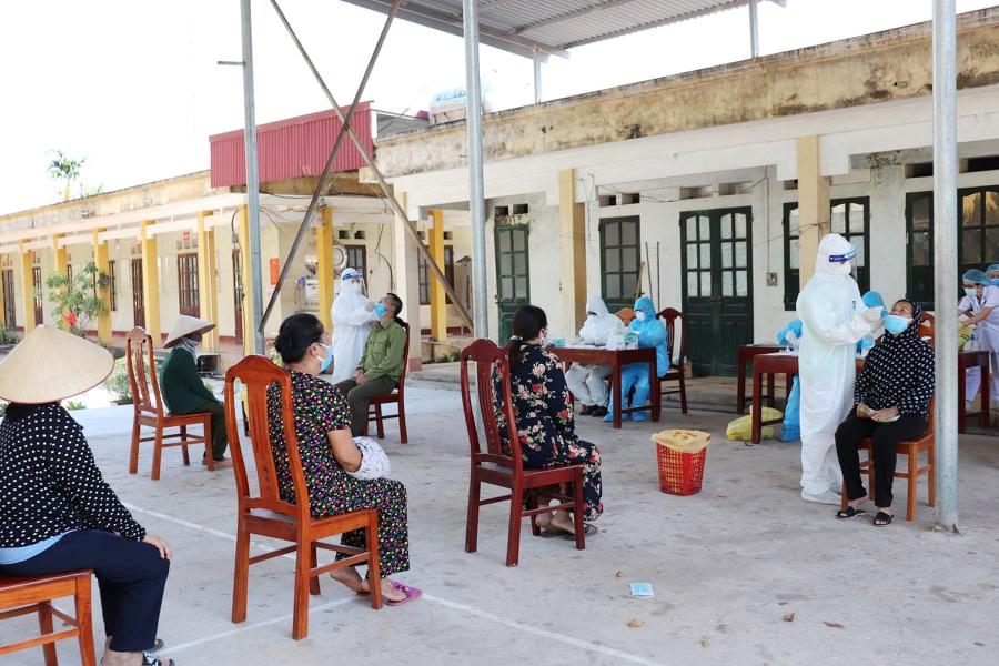 Hoàn thành công tác hỗ trợ Bắc Giang chống dịch