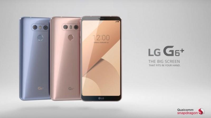 LG ra mắt video chính thức giới thiệu G6+