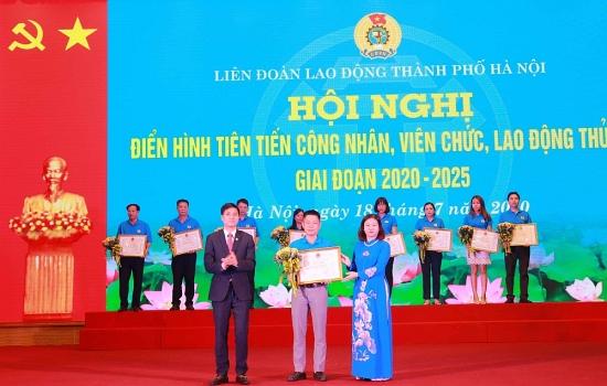 Trực tuyến hình ảnh Hội nghị điển hình tiên tiến công nhân viên chức lao động Thủ đô giai đoạn 2020-2025