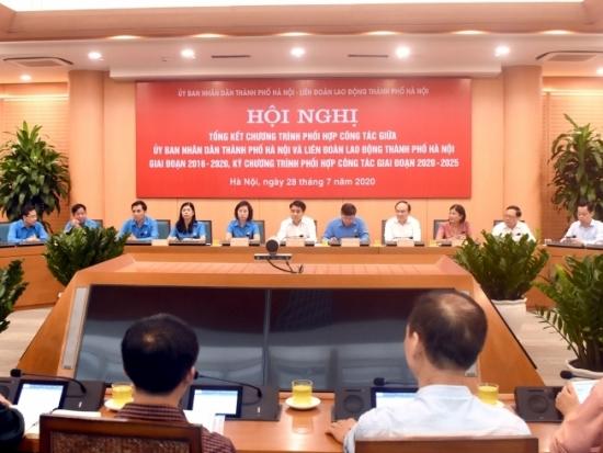 Hiệu quả chương trình phối hợp công tác giữa UBND Thành phố và Liên đoàn Lao động Thành phố