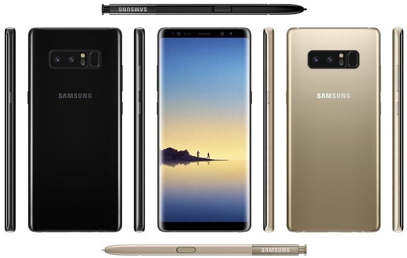 Nóng: Lộ thông số cấu hình của Galaxy Note 8?