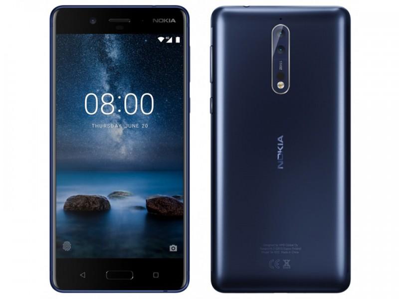 Nokia 8 ra mắt với Chip Snapdragon 835, camera kép 13MP