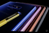 Siêu phẩm Galaxy Note 9 ra mắt với Pin 4.000 mAh, bộ nhớ lên đến 512 GB