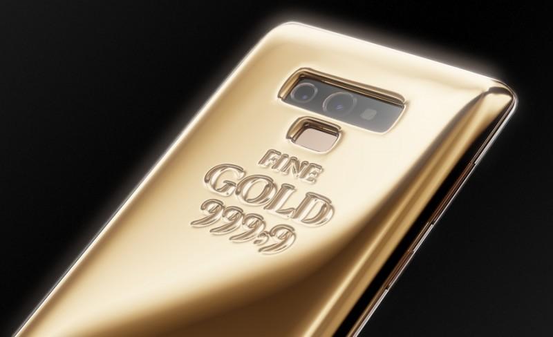 Siêu phẩm Galaxy Note 9 phiên bản dát vàng nặng 1kg, giá gần 1,4 tỷ đồng