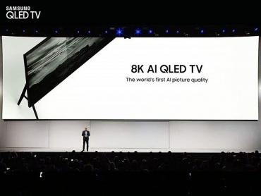 IFA 2018: Samsung ra mắt TV QLED 8K với công nghệ AI và độ phân giải siêu cao