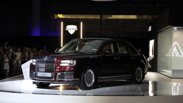 Aurus Senat - Sedan hạng sang của Nga trông như Rolls-Royce