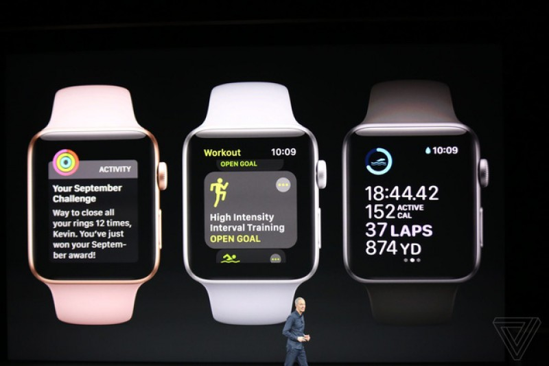 apple ra mat dong ho thong minh apple watch apple tv the he moi