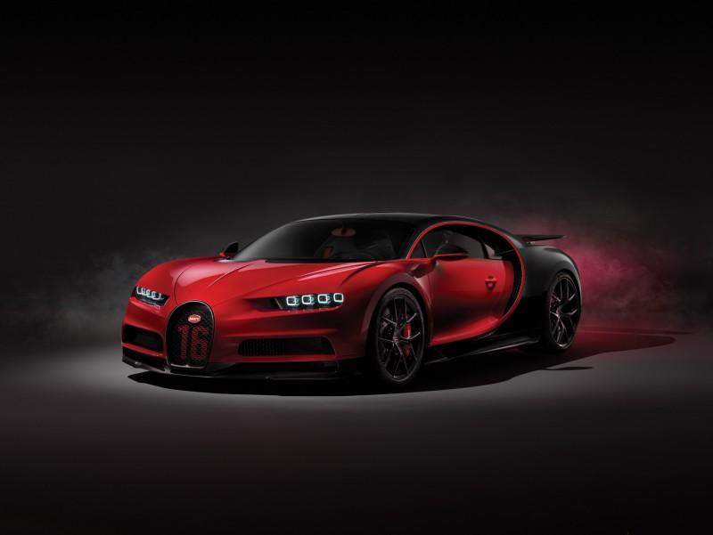 Chiron Sport mới là đối thủ khả dĩ nhất của Bugatti Divo
