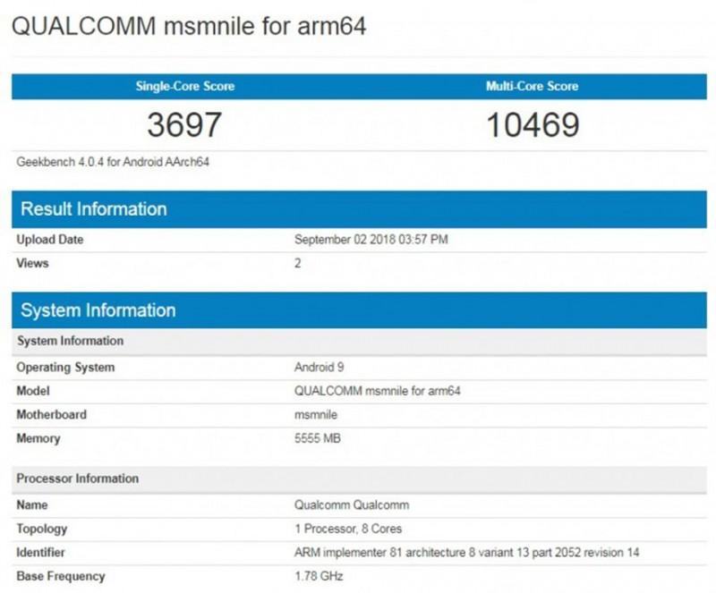 Snapdragon 855 của Qualcomm mạnh ngang với chip A11 Bionic