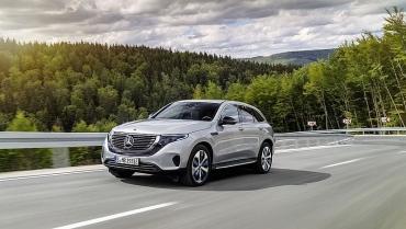 Chính thức ra mắt xe điện EQC đầu tiên của Mercedes-Benz