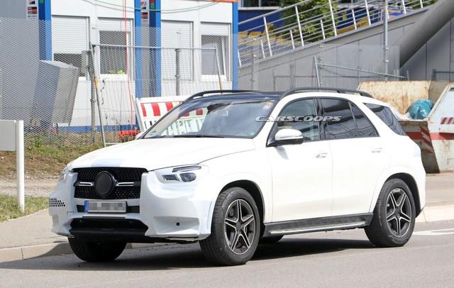 Mercedes-Benz giới thiệu hình ảnh chính thức SUV GLE 2019