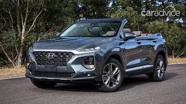 Hyundai Santa Fe 2019 mui trần với thiết kế trẻ trung, đầy thú vị