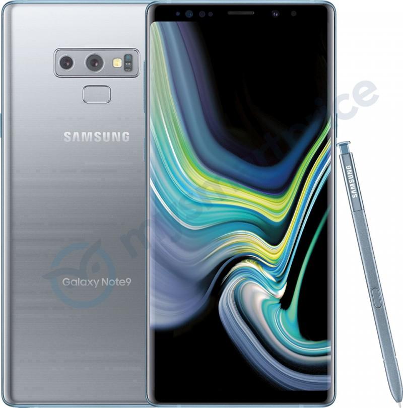 """Samsung: Galaxy Note 9 sắp """"khoác"""" lên mình màu bạc cực sang chảnh"""