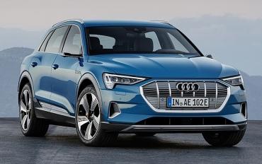 Audi: Ra mắt SUV điện chủ lực E-Tron đầu tiên