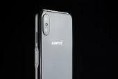 Asanzo S3 Plus có thiết kế kim loại, cảm biến vân tay