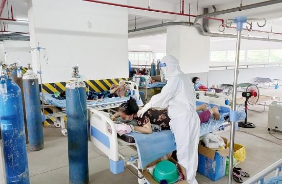 Chuẩn bị nguồn oxy y tế để sẵn sàng ứng phó